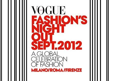 Vogue Fashion's Night Out 2012