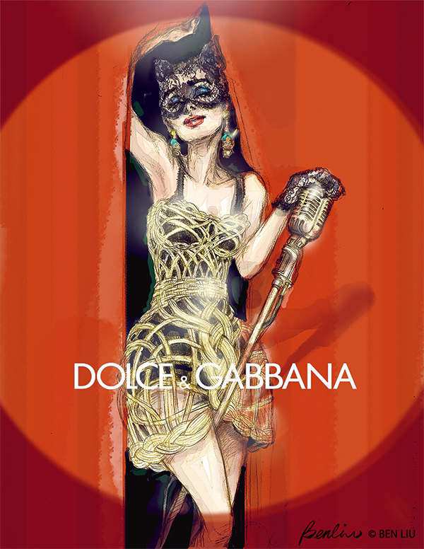 Catwoman-Audrey-Hepburn-Dolce-Gabbana-Ben-Liu
