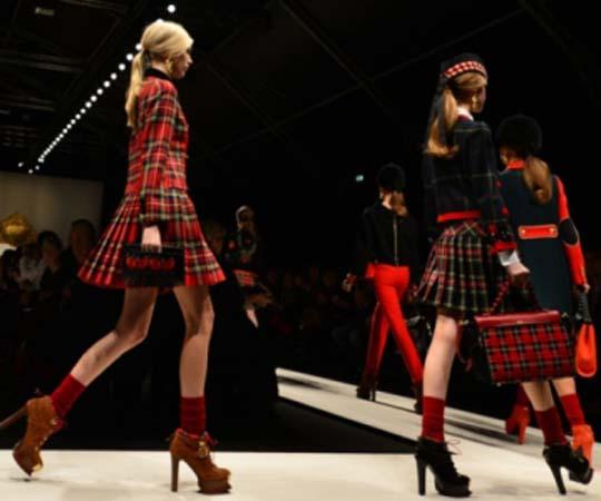 Tartan-on-the-catwalk