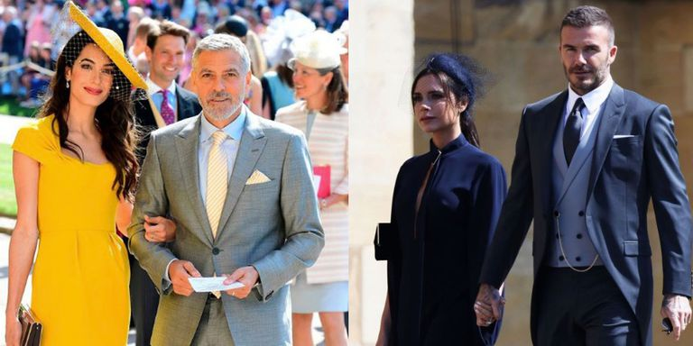 Wedding Royal Clooney Beckham